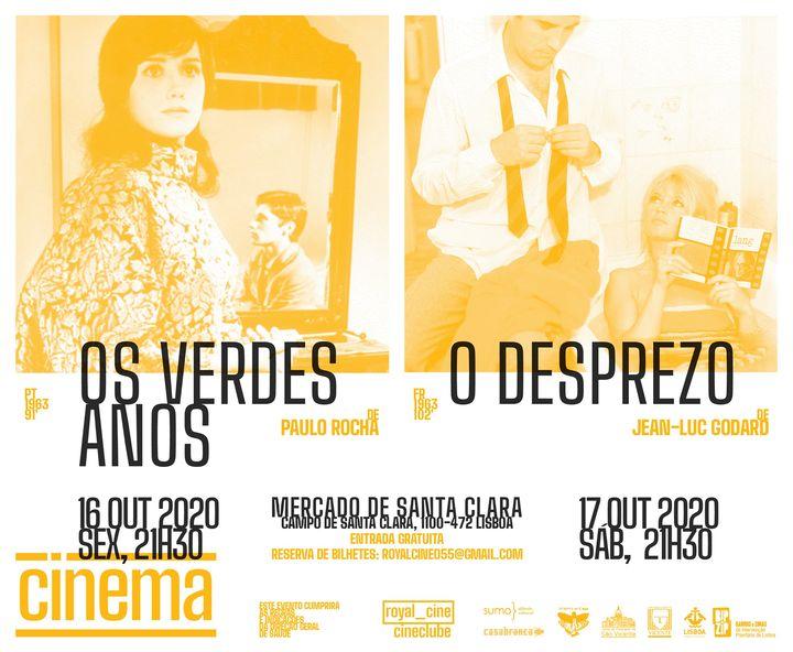 Cinema no Mercado de Santa Clara