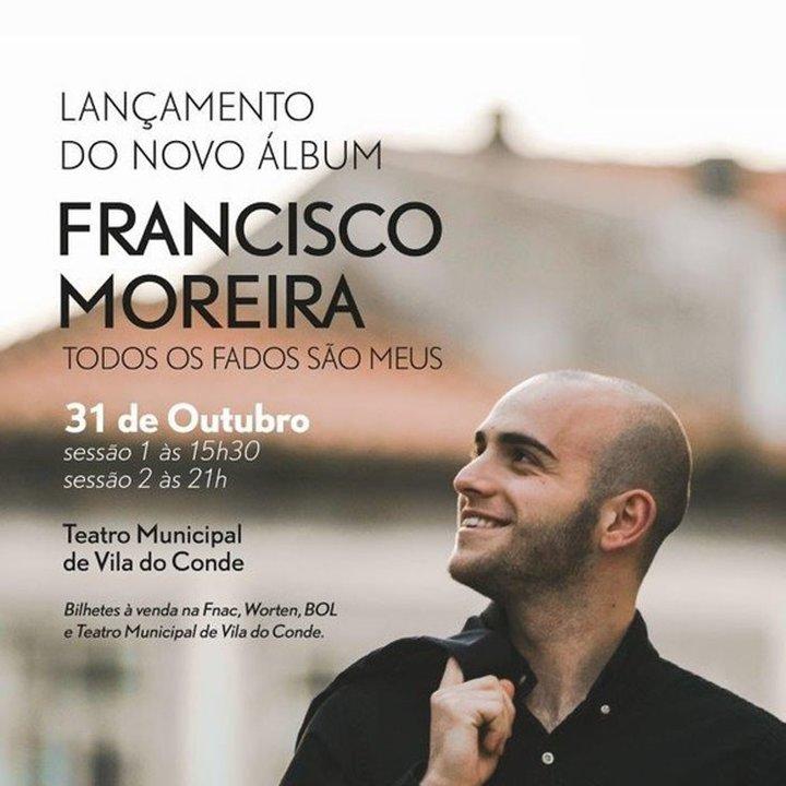 Fadista Francisco Moreira no Teatro Municipal