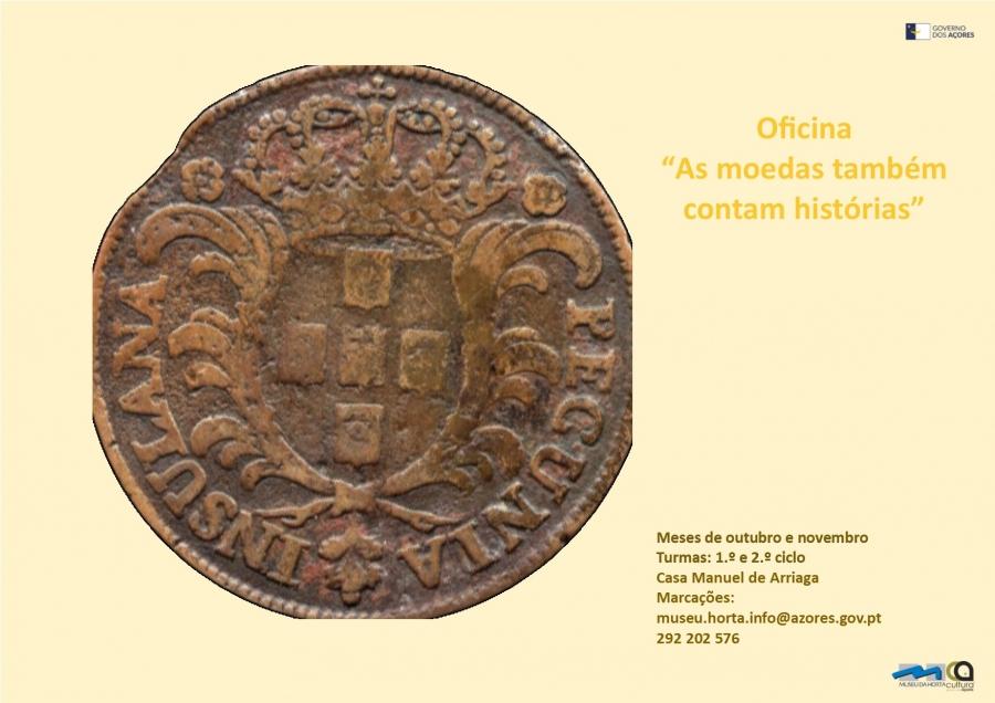 Oficina 'As moedas também contam histórias'