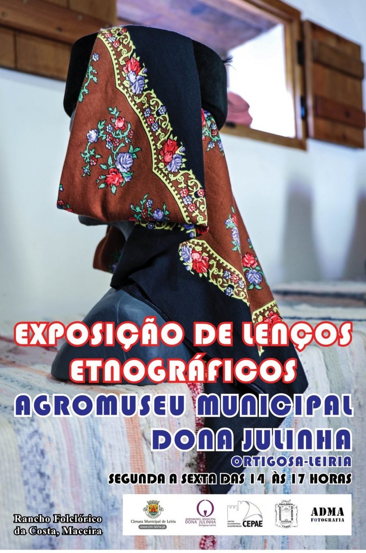 Exposição de lenços etnográficos