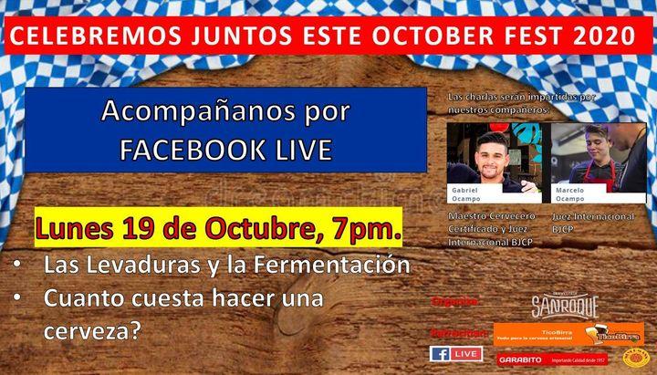 Tercera charla del ciclo Octoberfest 2020