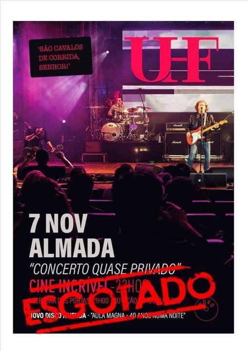 UHF Concerto quase privado...40 anos de Cavalos!