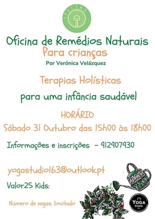 Oficinas de Remédios Naturais