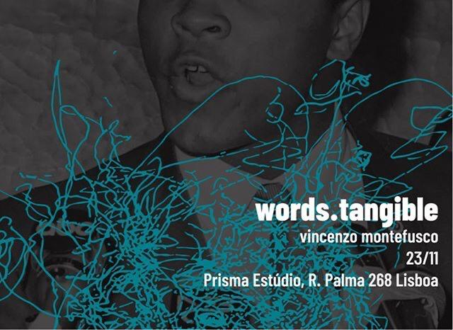 (!)One-Day-Exhibition: Vincenzo Montefusco - Words.Tangible