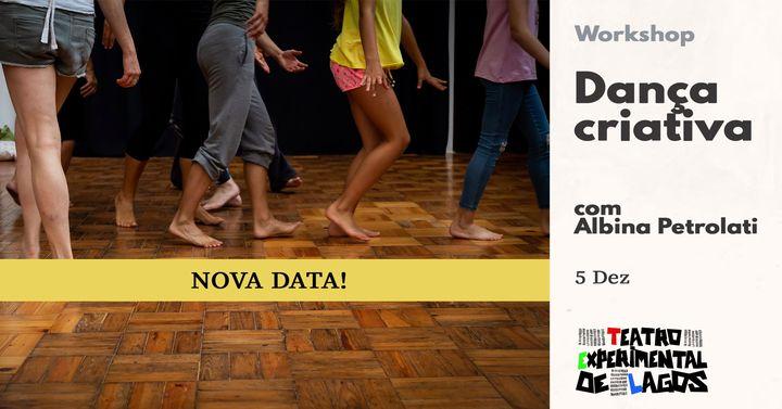 Dança Criativa * workshop