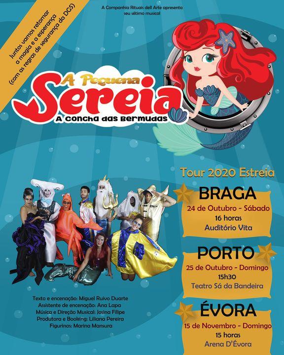 Pequena Sereia em Évora