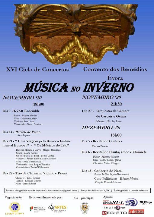 XVI Ciclo de Concertos 'Música no Inverno'