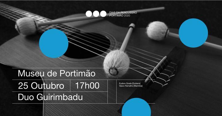 Duo Guirimbadu // Dias da Percussão Portimão 2020