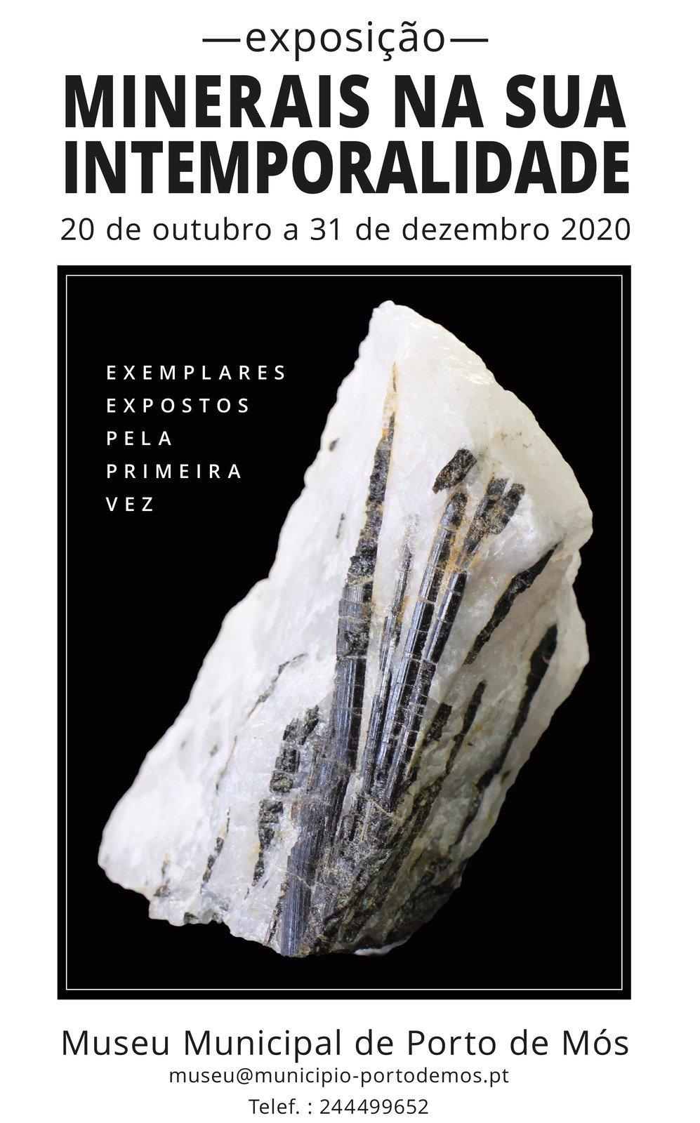 Exposição - Minerais na sua Intemporalidade