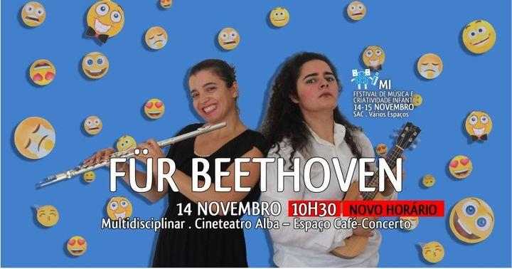FÜR BEETHOVEN | Mi - Festival de Música e Criatividade Infantil