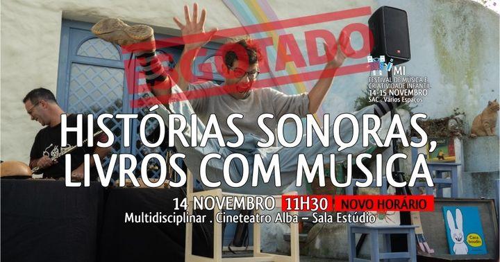 HISTÓRIAS SONORAS, LIVROS COM MÚSICA | Mi – Festival de Música e Criatividade Infantil