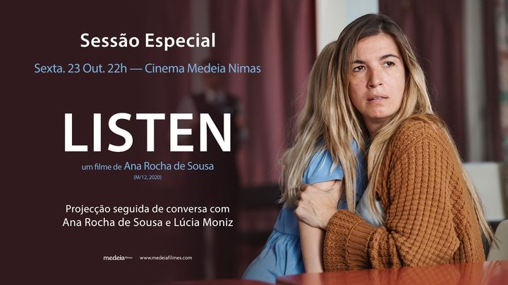 Sessão Especial com conversa: LISTEN, de Ana Rocha de Sousa | Cinema Nimas