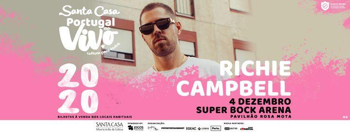 RICHIE CAMPBELL - SANTA CASA PORTUGAL AO VIVO