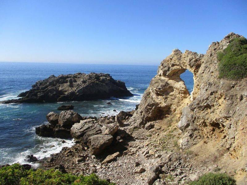 Caminhando na Praia do Inferno e Cova da Mijona