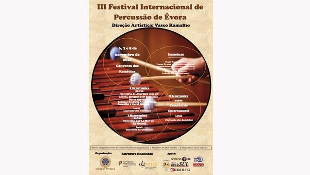III Festival de Percussão de Évora