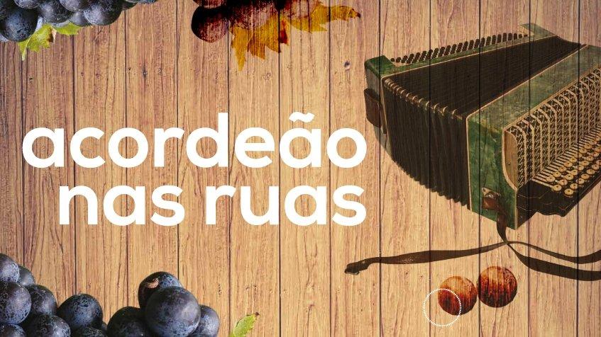 Acordeão nas ruas da União das Freguesias de Maxial e Monte Redondo