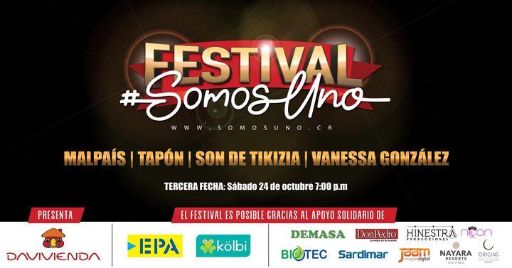 Festival #SomosUno 24 de octubre 2020