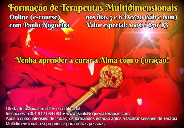 Curso Online de Terapia Multidimensional a 5 e 6 Dez'20