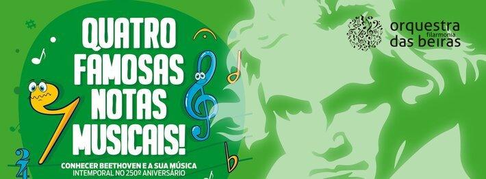 QUATRO FAMOSAS NOTAS MUSICAIS!