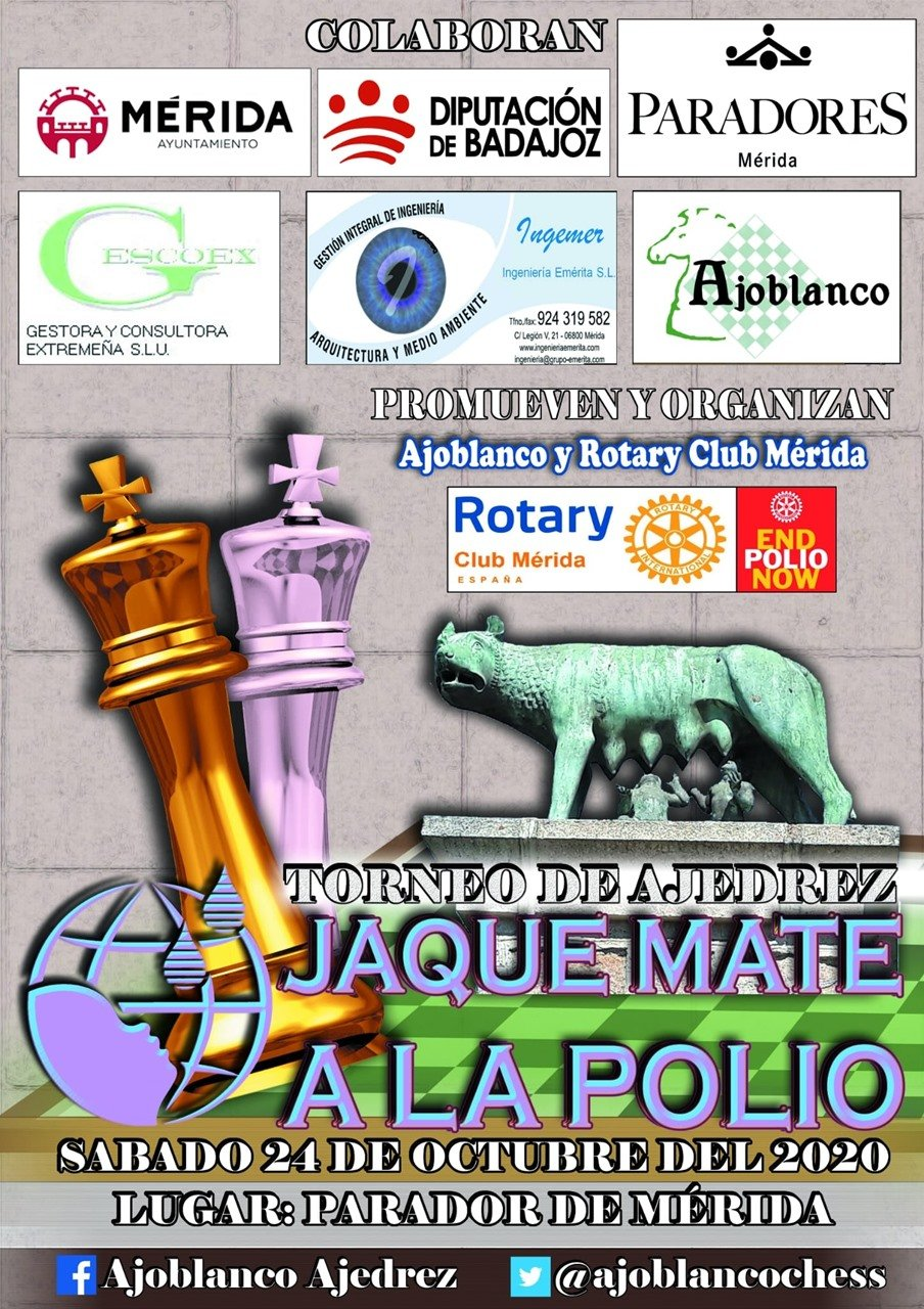 Torneo de Ajedrez 'Jaque mate a la polio'