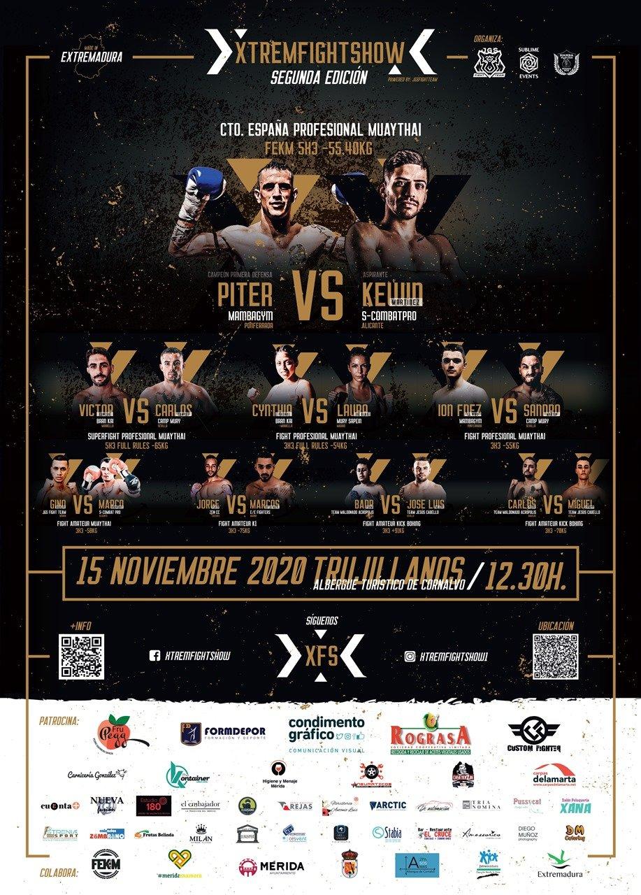 II Xtrem Fight Show (APLAZADO)