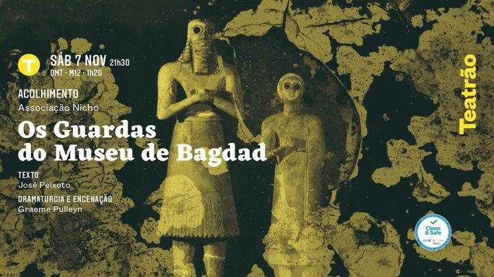 Os guardas do museu de Bagdad - Graeme Pulleyn/Nicho