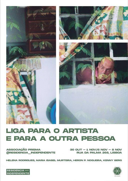 Exposição - Liga Para o Artista e Para a Outra Pessoa