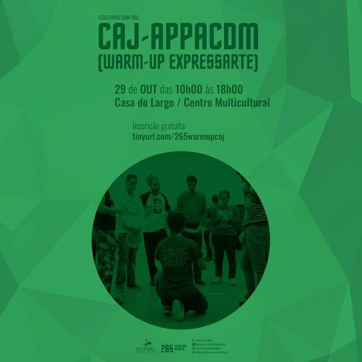 Warm-up XXI Festival ExpressArte - CAJ Appacdm