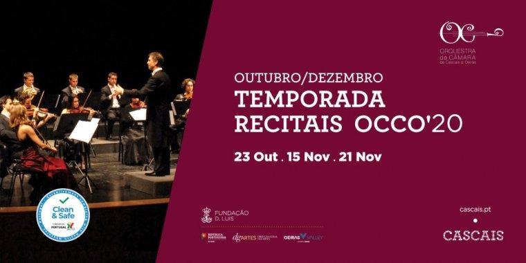 Recitais  OCCO  | Outubro a Dezembro 2020