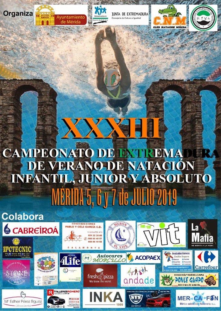 XXIII Campeonato de Extremadura de Verano de Natación