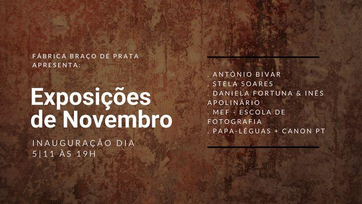 Inauguração | Exposições de Novembro