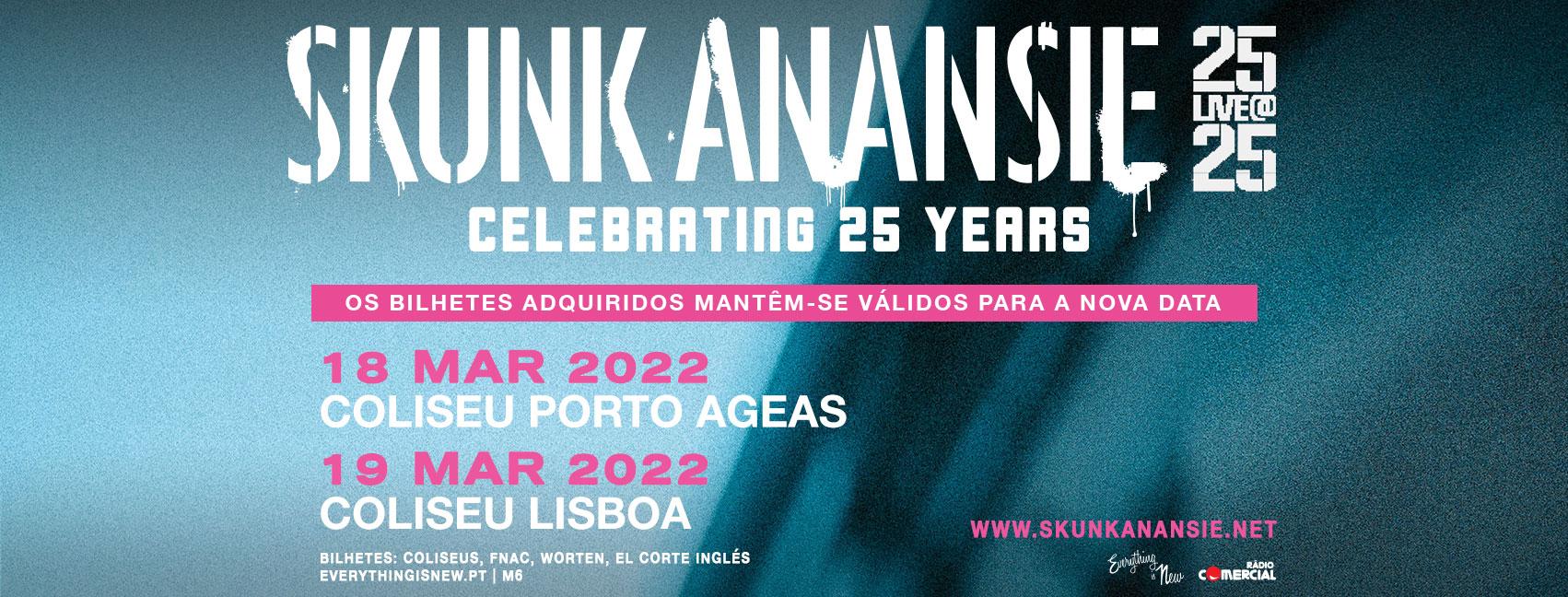 Nova Data: Skunk Anansie // Coliseu Porto Ageas