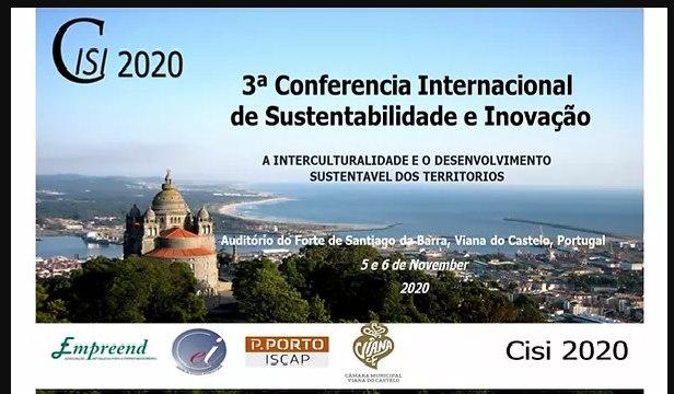 CISI 2020 – 3ª Conferência Internacional de Sustentabilidade e Inovação - EVENTO ONLINE COM NOVAS DATAS