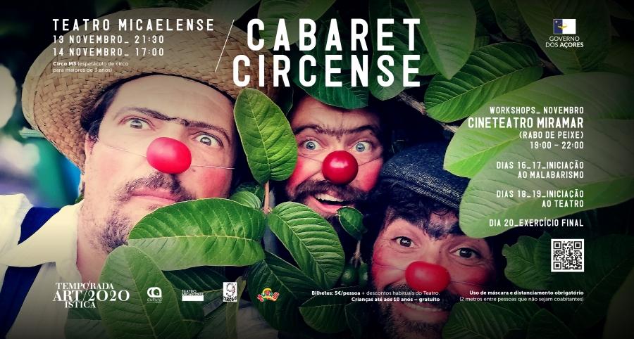 Cabaret Circense | Temporada Artística 2020