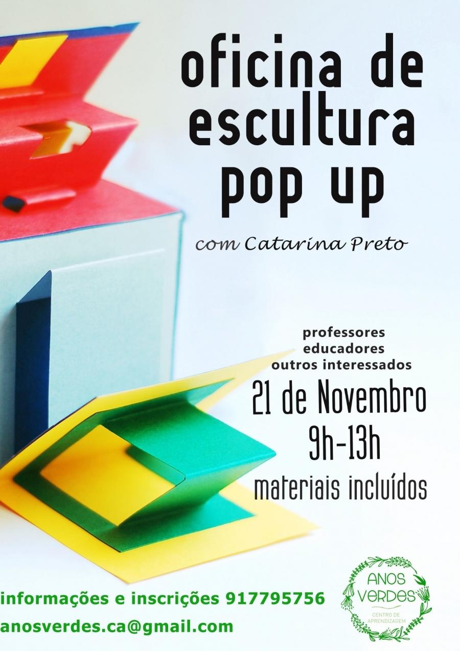 Oficina de escultura Pop Up