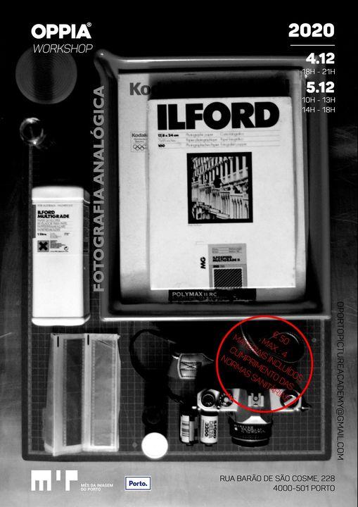 WORKSHOP - Fotografia Analógica p/b