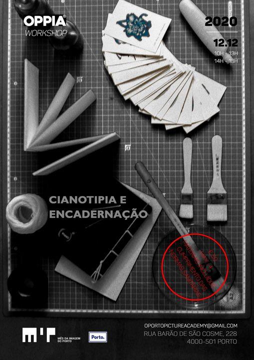 WORKSHOP - Cianotipia & Encadernação