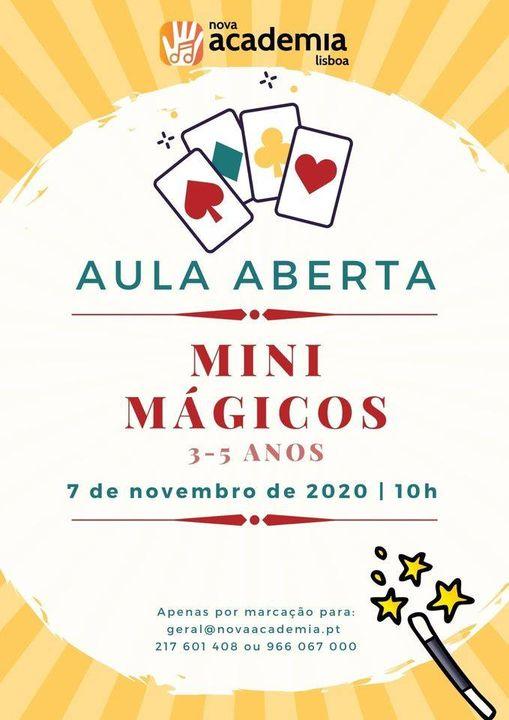 Aula Aberta: Mini Mágicos