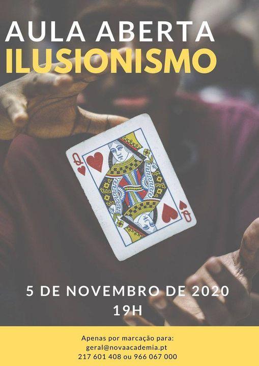 Aula Aberta para Adultos: Ilusionismo