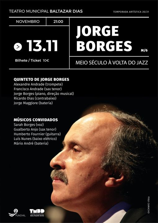 Jorge Borges: Meio Século à Volta do Jazz