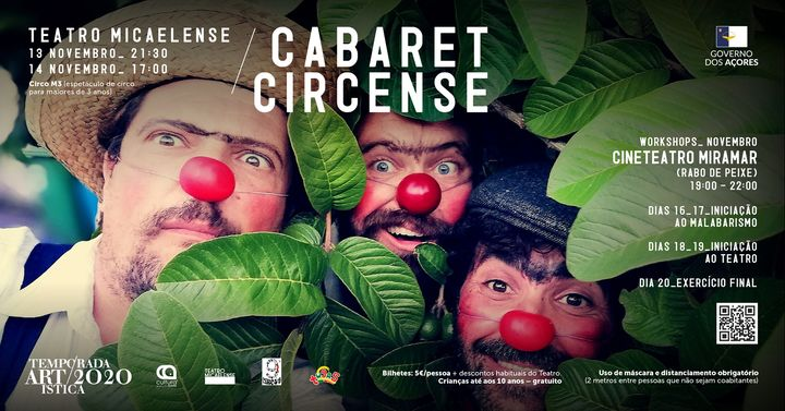 Cabaret Circense ● Temporada Artística 2020