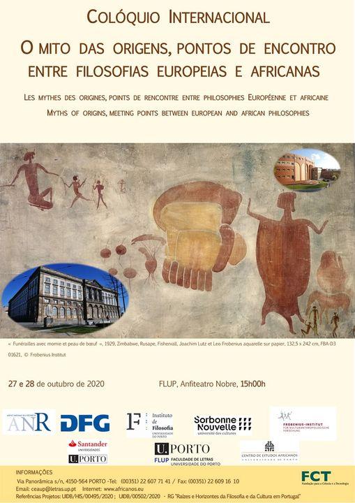 Colóquio Internacional | O mito das origens, pontos de encontro entre filosofias europeias e africanas