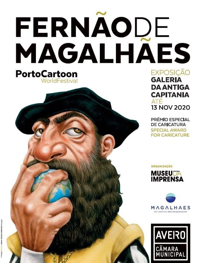 Exposição 'Fernão de Magalhães na Caricatura Internacional'