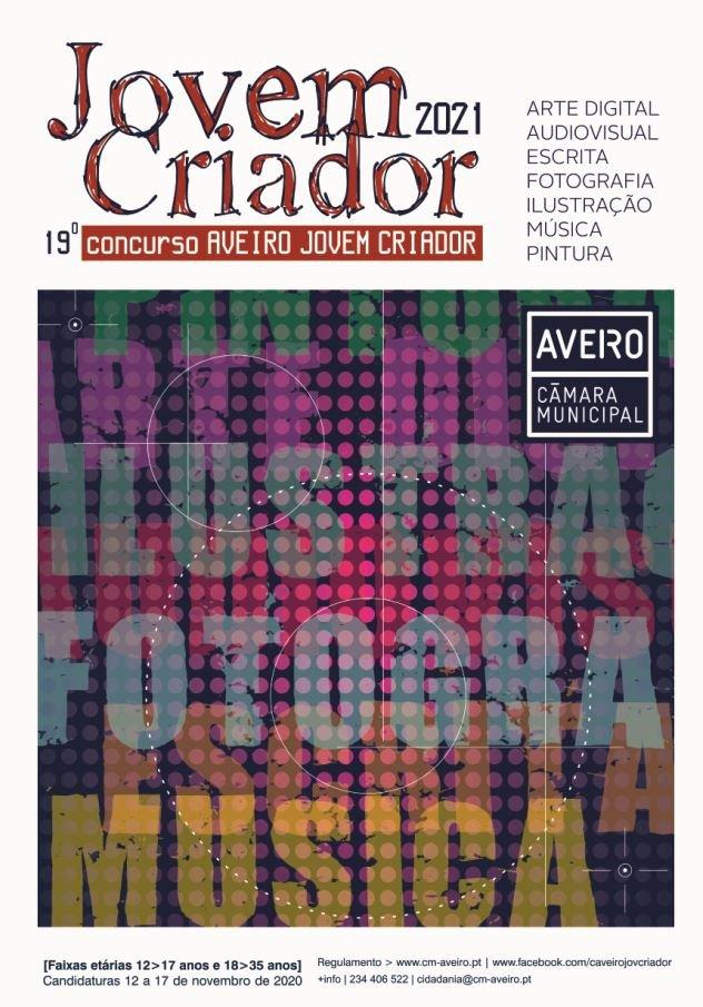Concurso Aveiro Jovem Criador 2021 | CANDIDATURAS