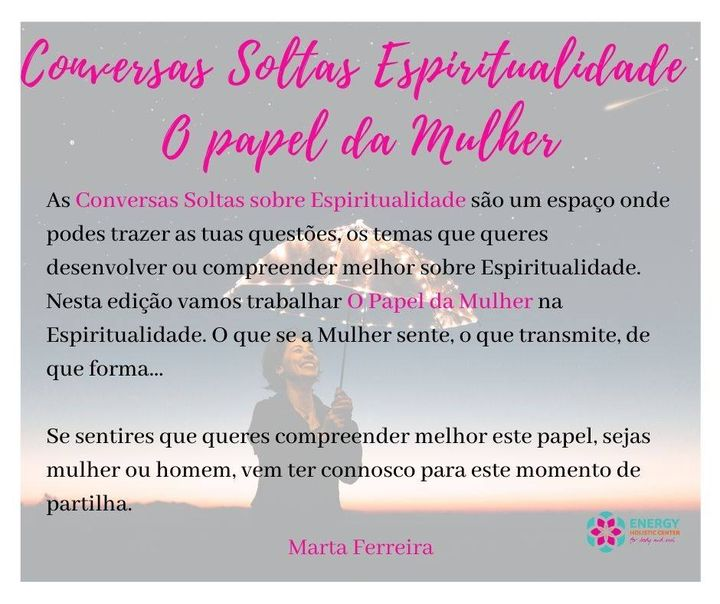 Conversas Soltas: Espiritualidade- A Mulher