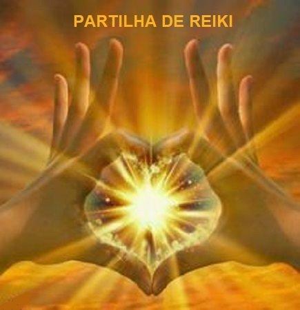 PARTILHA DE REIKI