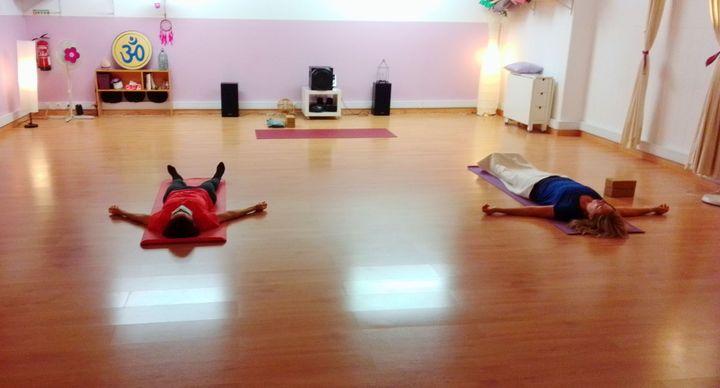 Yoga à hora de almoço
