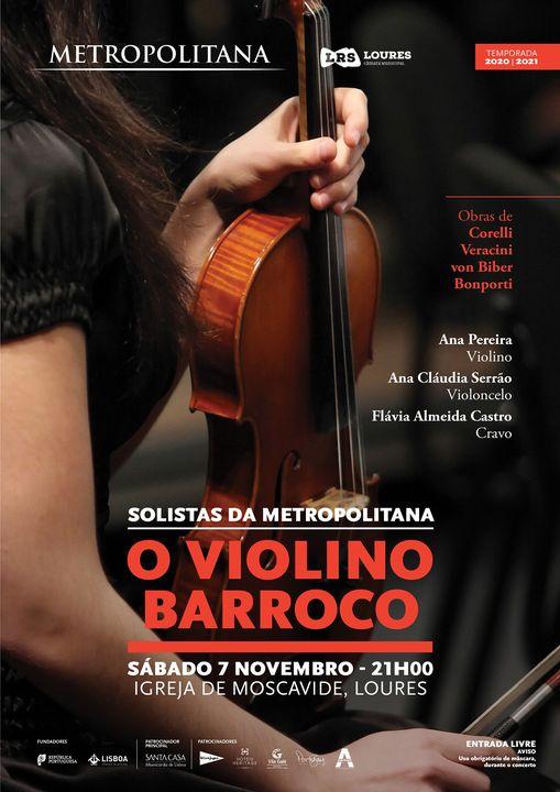 O Violino Barroco - Solistas da Metropolitana