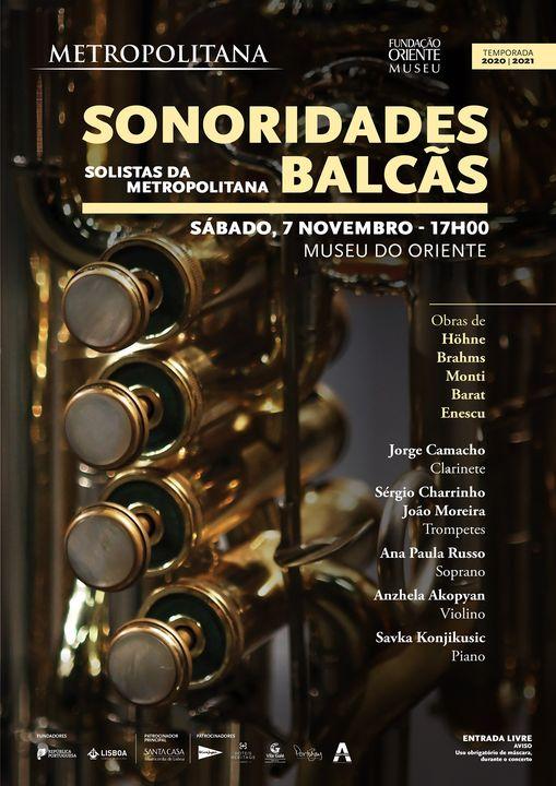 Sonoridades Balcãs - Solistas da Metropolitana