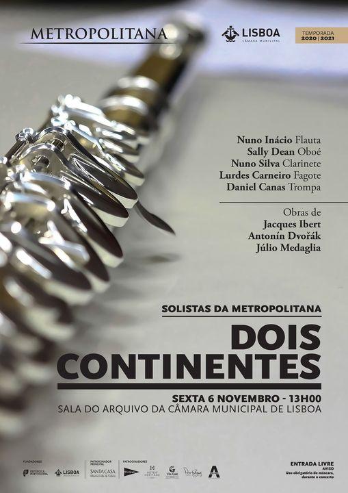 Dois Continentes | Solistas da Metropolitana